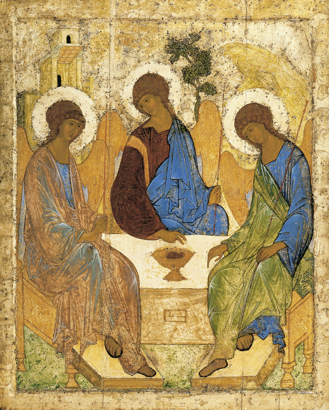 The Old Testament Trinity of Rublev